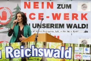 Dr. Monika Maier-Peuschel zu Bau un Betrieb des Werks