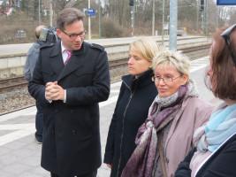 Florian Pronold, Verena Bentele, Gabriela Heinrich und Angelika Weickert