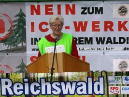 Inge Jabs freut sich Über große Solidarität