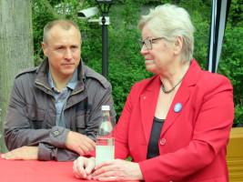 Jörg Kotzur und Inge Jabs