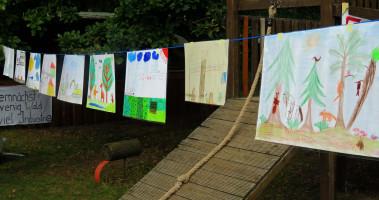 Kinderbilder aus der Waldsiedlung