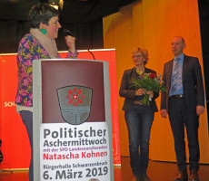 Unterbezirksvorsitzende Martina Baumann
