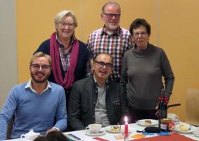 Marcel Schneider, Inge Jabs, Heinz Röttenbacher, Robert Gödel und Christa Vogelsang