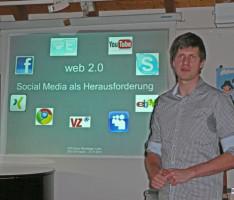 Sven Morner stellt Web 2.0 vor