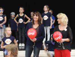 Tanzen und Kerstin Gardill