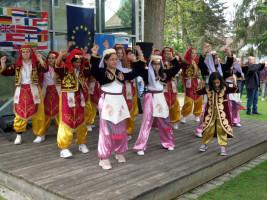 Kindertanzgruppe des türkischen Kulturvereins Altdorf
