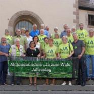 """Aktionsbündnis """"Ja zum Wald""""- Initiatoren und Unterstützer"""