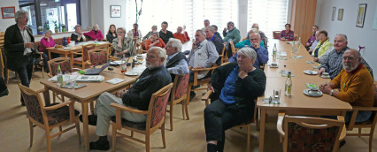 Interessiertes Publikum zu TTIP