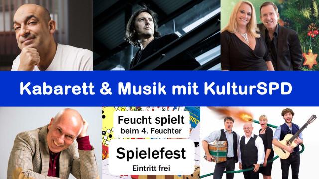 Kabarett & Musik mit KulturSPD