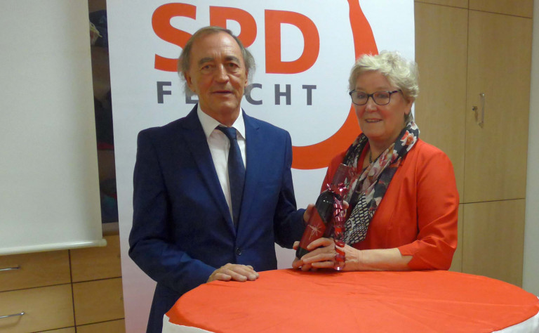 Franz Schindler und Inge jabs